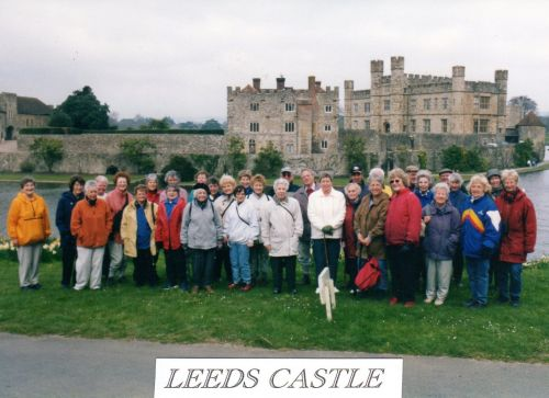 Ramblers at Leeds Castle